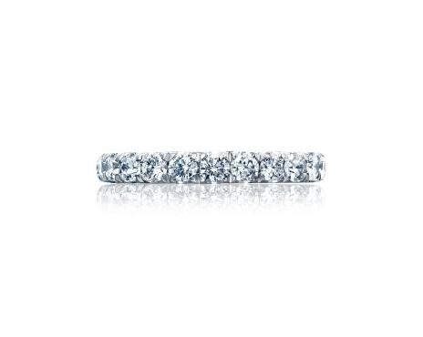 HT 2623 B 3/4 1.50ctw Diamond VS Clarity; G Colour Royal T Platinum Tacori 3/4 way Band - Serial No. 322465