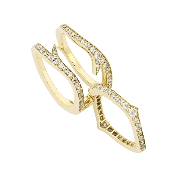 Stephen Webster Convertible Thorn set with 1.57ctw White Diamond VS1 Clarity; GH Colour 18K Yellow Gold Ring -3018866001