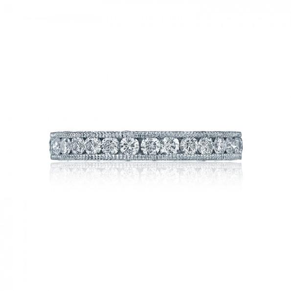 HT 2614 B - 1.20ctw Diamond VS Clarity; G Colour Royal T Eternity Platinum Band by Tacori - Serial No. 257442